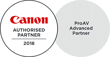 Canon ProAV Advanced Authorised Partner 2018